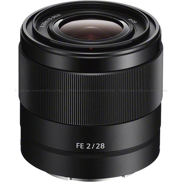 Sony FE 28mm f/2 E-mount Prime Lens