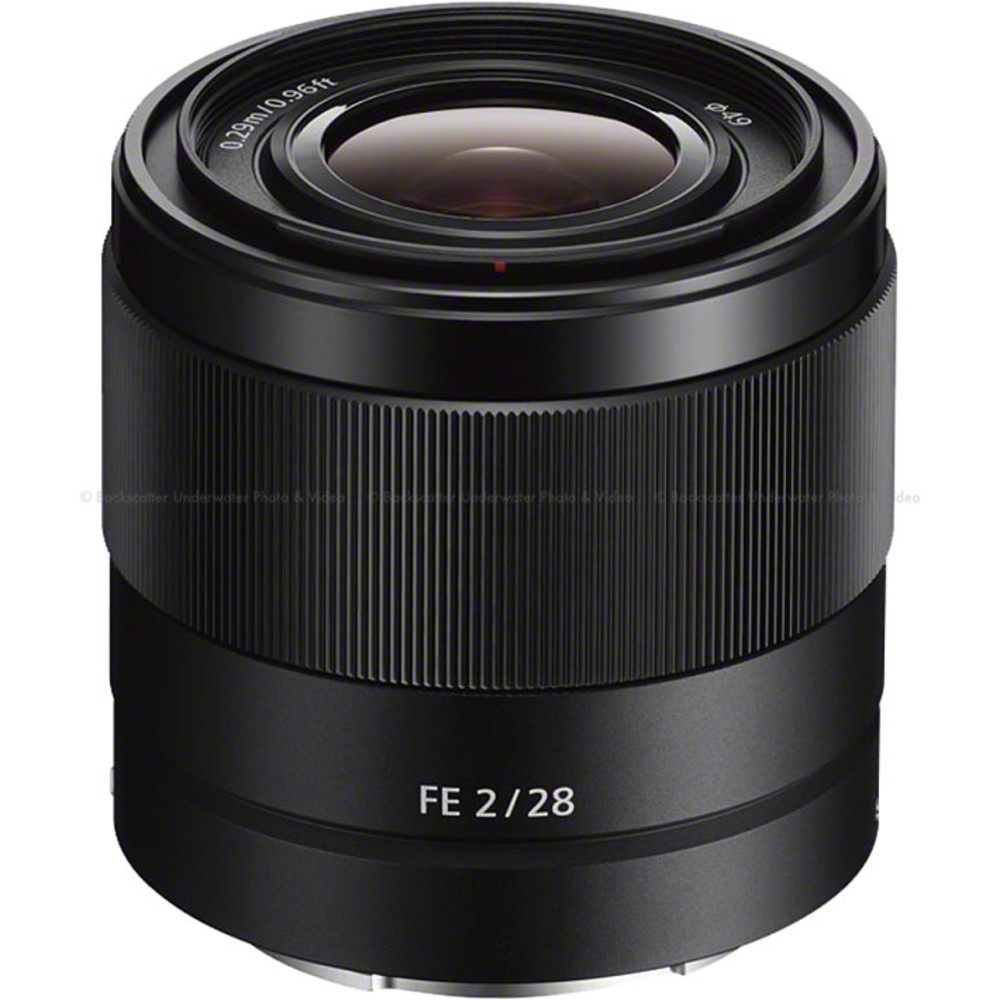 Sony FE 28mm f/2 E-mount Prime Lens