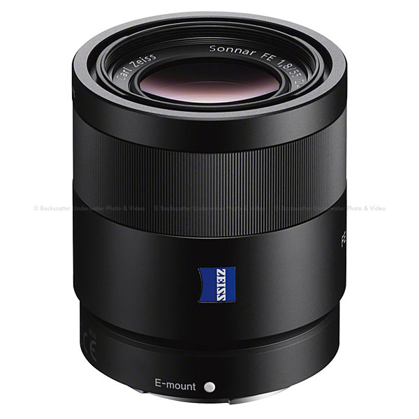 Sony Sonnar T* FE 55mm f/1.8 ZA Full-frame E-mount Prime Lens
