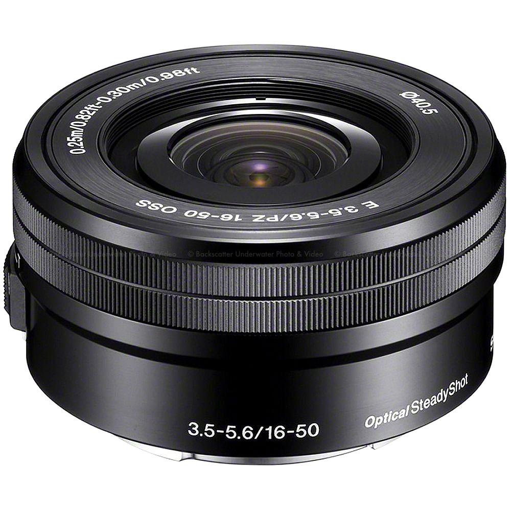 Sony E PZ 16-50mm f/3.5-5.6 OSS Power Zoom Lens