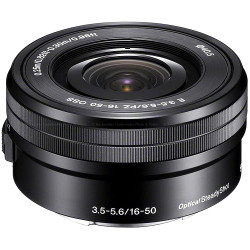 Sony E PZ 16-50mm f/3.5-5.6 OSS Power Zoom Lens