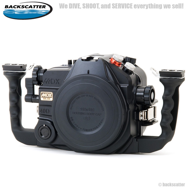 Sea & Sea MDX-40D / 50D Underwater Housing for Canon EOS 40D & 50D Digital  Cameras