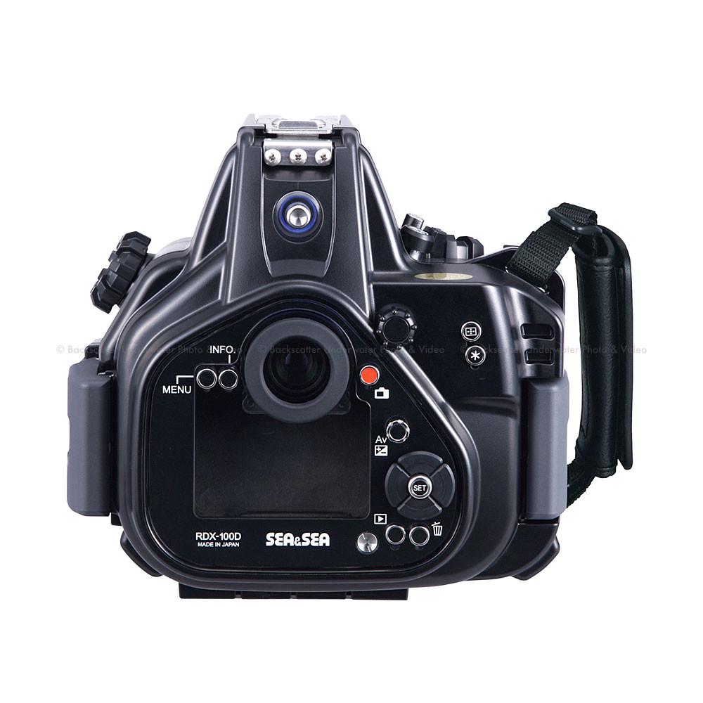 Sea Rdx 100d Underwater Housing For Canon Rebel Sl1 Camera Eos Dslr