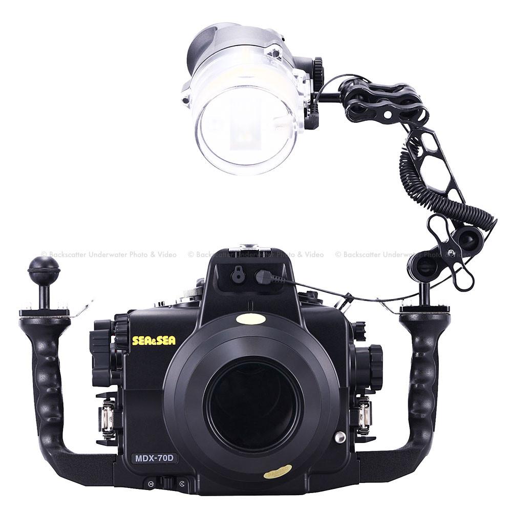 Sea & Sea MDX-70D Underwater Housing for Canon 70D Camera