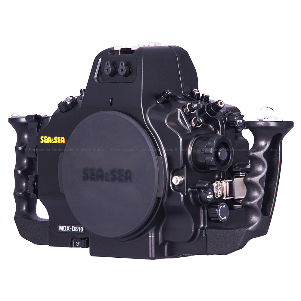 Sea & Sea MDX-D810 Underwater Housing for Nikon D810 Full Frame DSLR ...