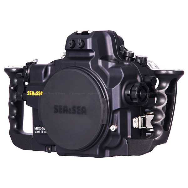 Sea & Sea MDX-5DMKIII Version 2 Underwater Housing for Canon 5D Mark III, 5DS & 5DS R DSLR Cameras