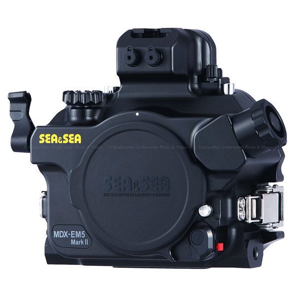 Sea & Sea MDX-EM5 Mark II Underwater Housing for Olympus OM-D E-M5 Mark II Camera