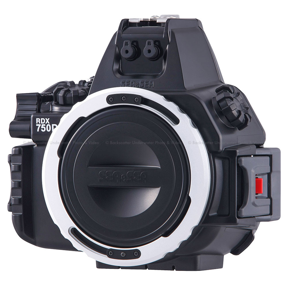 Sea & Sea RDX-750D Underwater Housing for Canon EOS Rebel T6i/750D DSLR Camera