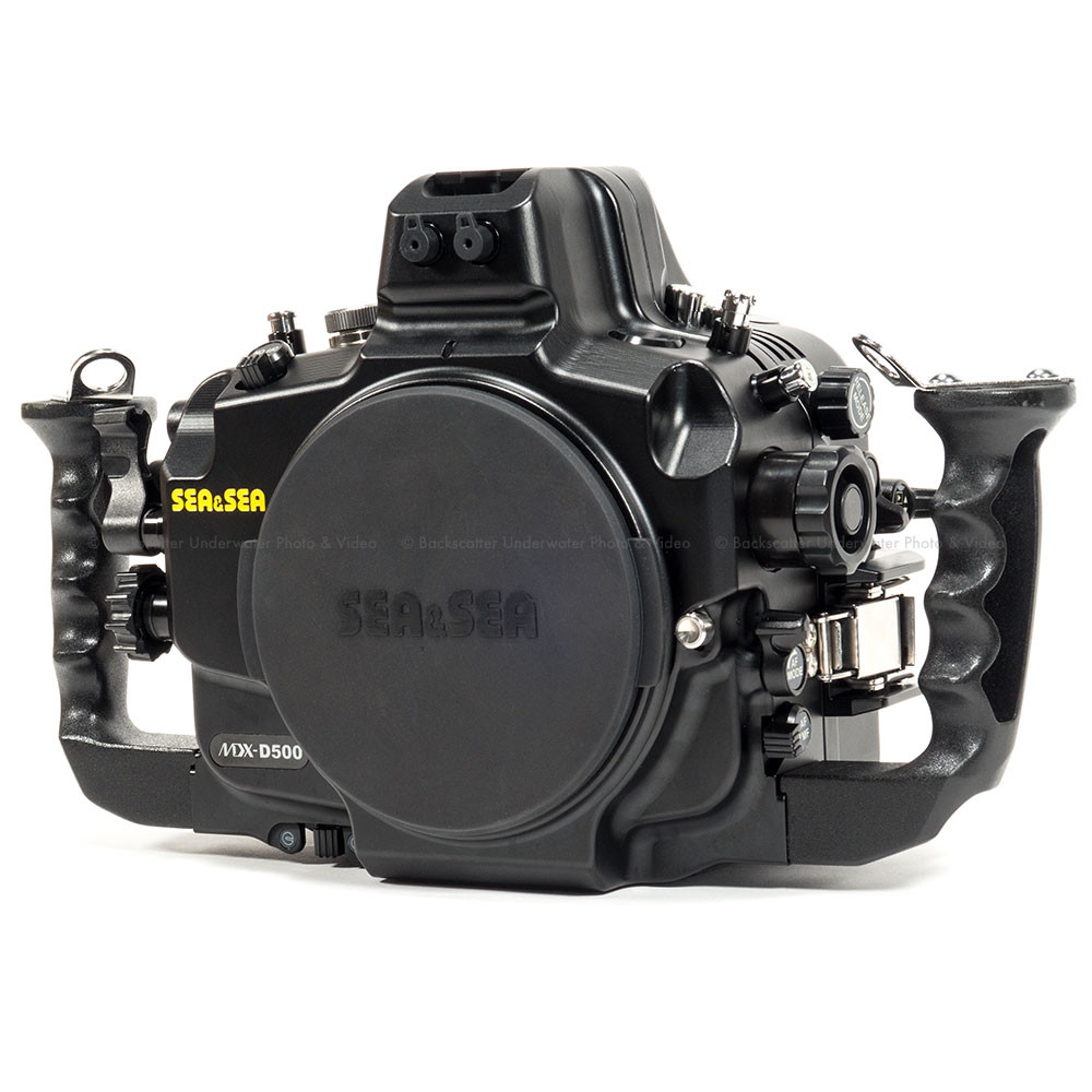 Sea & Sea MDX-D500 Underwater Housing for Nikon D500 DX DSLR Camera