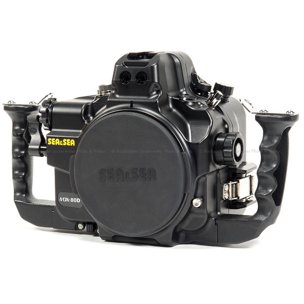 Sea & Sea MDX-80D Underwater Housing for Canon 80D DSLR Camera