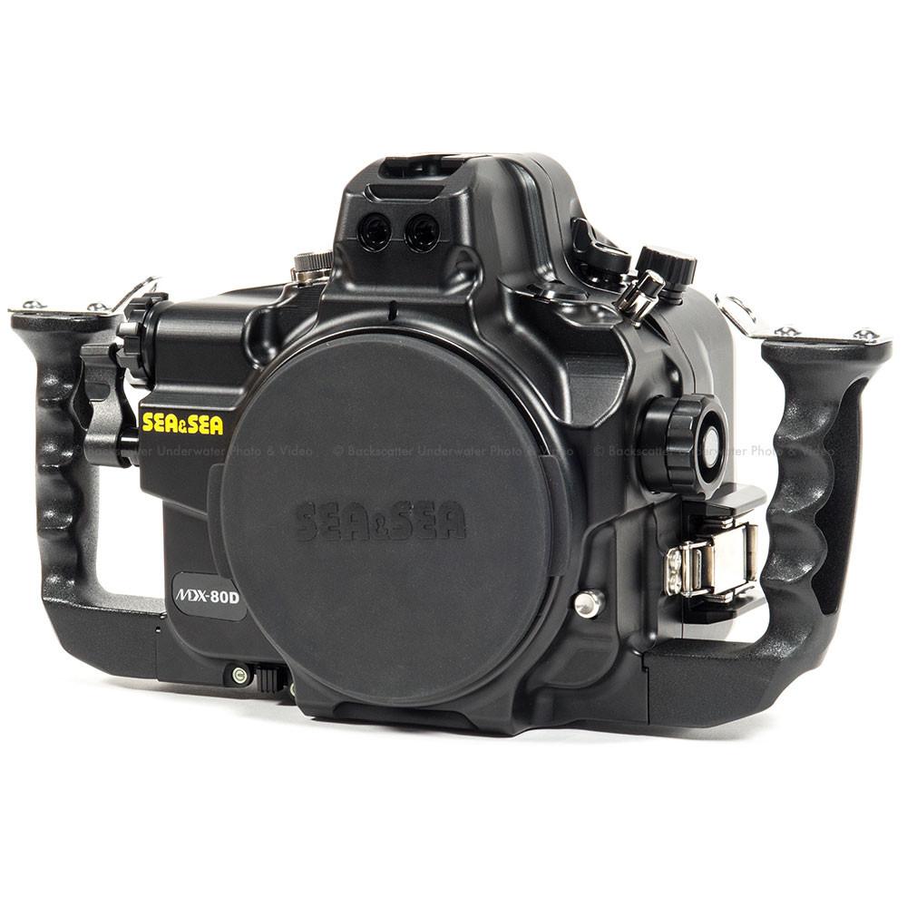 Sea & Sea MDX-80D Underwater Housing for Canon 80D DSLR Camera