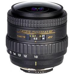 Tokina 10-17mm f3.5/4.5 DX Type II Canon Fisheye Zoom Lens