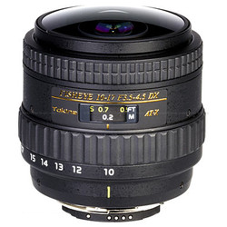 Tokina 10-17mm f3.5/4.5 DX Type II Nikon Fisheye Zoom Lens