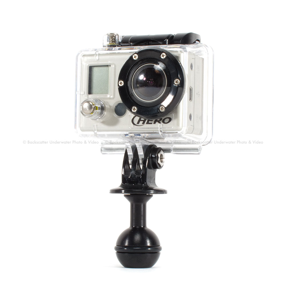 Ultralight GoPro Ball Mount Prev Next