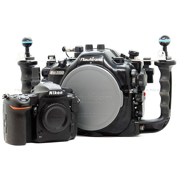 Used Nikon D500 Camera Body & Nauticam NA-D500 Underwater Housing