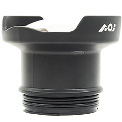 AOI DLP-04P Underwater 4 inch Acrylic Semi-Dome Port for Olympus PEN Housings aoi-dlp-04p.jpg