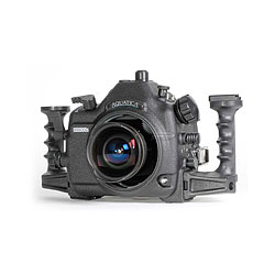 Aquatica AD300s Underwater Housing with dual Optical bulkheads and Aqua View Magnified Viewfinder for Nikon D300s DSLR Camera  aq-20064-opt-vf.jpg