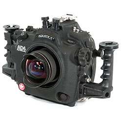 Aquatica AD4 Underwater Housing with Dual Nikonos bulkheads, Moisture Alarm, Aqua View Magnified Viewfinder & Vacuum circuitry kit for Nikon D4 SLR Camera aq-20069-nk-vf-vc.jpg