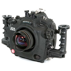 Aquatica AD4 Underwater Housing with dual Nikonos bulkheads & Aqua View Magnified Viewfinder for Nikon D4 SLR Camera aq-20069-nk-vf.jpg