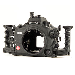 Aquatica AD800 Underwater Housing with one Optical & one Nikonos Bulkhead & Aqua View Magnified Viewfinder for Nikon D800 DSLR Camera aq-20070-hyb-vf.jpg