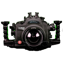 Aquatica AD600 Underwater Housing for Nikon D600 SLR Camera with a single Nikonos and one Optical Bulkhead aq-20072-hyb.jpg