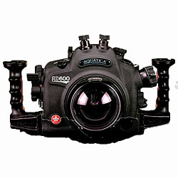 Aquatica AD600 Underwater Housing with One Ikelite TTL/manual Bulkhead & Aqua View Magnifying Viewfinder for Nikon D600 SLR Camera aq-20072-kt-vf.jpg