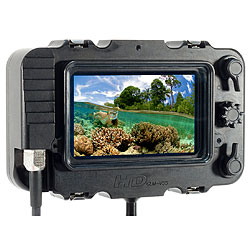 Wahoo HD Underwater Monitor Housing for Sony CLM-V55 Monitor bs-003-aq.jpg