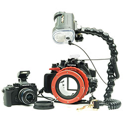 Olympus OM-D E-M1 Camera, PT-EP11 Underwater Housing, Inon D2000 Package bs-248826-pkg.jpg