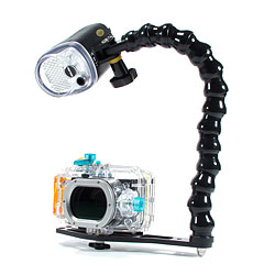 Canon WP-DC43 Underwater Housing for the Canon Powershot S100 Add a Strobe Package: