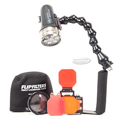 FLIP3.1 MacroMate Mini Combo Pack with Light & Motion Sola 1200 Video Light for GoPro bs-gpbetter-pkg.jpg
