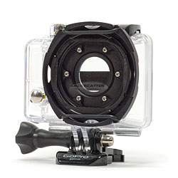 Backscatter Custom GoPro Underwater Housing with Glass Lens and Removable Filter Mount bs-gpuw.jpg