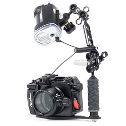 Backscatter Nauticam NA-A6000 Housing, Port and Strobe Package bs-naa6000-pkg.jpg