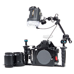 Backscatter Nauticam NA-EM1 Housing, Lens, Port and Strobe Package bs-naem1-pkg.jpg
