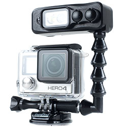 Light & Motion Sidekick GoPro Light  - Flex Arm Package