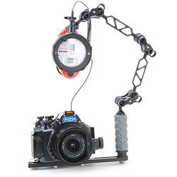 Seatool 400XTi Underwater Housing Package for Canon Rebel XTi and Canon EOS 400D bs-strebelpkg.jpg