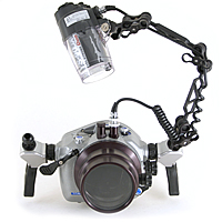 Light & Motion Titan D100 Underwater Camera  Housing Package for Nikon D100 Digital SLR bs-td100p.jpg