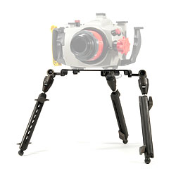 Backscatter Underwater Video & Photo Camera Tripod Setup