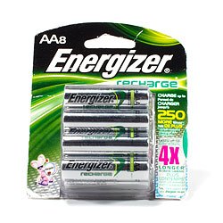 Energizer Rechargeable 2450mAh NiMH Battery - AA, 8 pack dc-2450aa-8.jpg