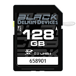 Delkin Black SD XC Card 128GB UHS-1 (Speed Class 3) dd-ddsdblk-128GB.jpg