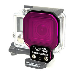 FLEX GREENWATER Filter for GoPro Hero3+ and Hero4 Standard Housing ff-flexgw.jpg