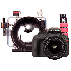 Canon EOS 100D Rebel SL1 DSLR Camera, Lens Kit and Ikelite Underwater Housing ike-6970.02.jpg