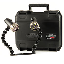 Light & Motion GoPro Package with Dual Sola 2000F Lights, Action Tray, Flex Arms & Action Case lmi-gp2k-pkg.jpg