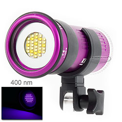 Keldan Video 4X UV Compact Underwater Video Light, 5W Radiated na-kel-699.jpg