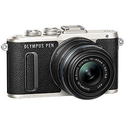 Olympus PEN E-PL8 Mirrorless Camera with 14-42mm II R Lens - Black ol-v205081bu000-410.jpg