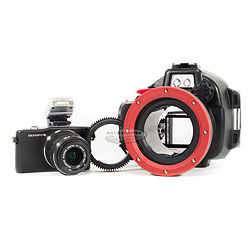 Olympus E-PM1 PEN Camera & PT-EP06 Underwater Housing Package ol-v206011bu030.jpg