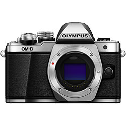 Olympus OM-D E-M10 Mark II Mirrorless Silver Camera Body ol-v207050su000.jpg