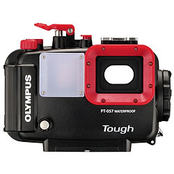 Olympus Tough TG-870 Waterproof Compact Camera - Green Add the Underwater Dive Housing