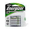 Energizer 850 mAh AAA Rechargeable Batteries (4pk.)