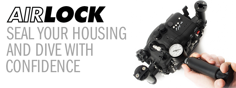 The Backscatter AirLock Vacuum System for Underwater Camera Housings