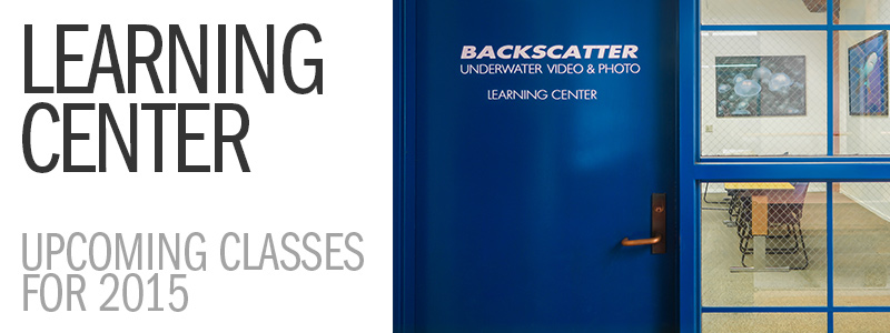 Backscatter Learning Center Classes in Monterey for 2015